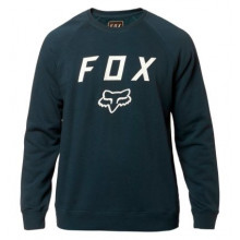 FOX LEGACY CREW FLEECE [NVY/WHT]