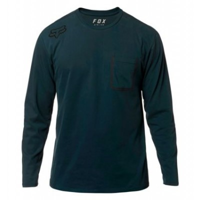 FOX REDPLATE 360 LS AIRLINE TEE [NVY]