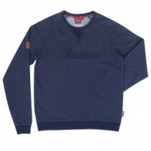 Indian Motorcycle Bluza Sweatshirt cu logo Indian Navy