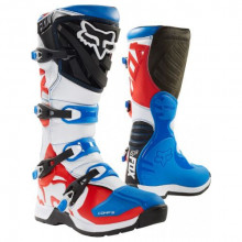 Fox Boots Comp 5 Boot Blue Red MX 18