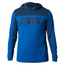 FOX GENERAL HOODED TECH LS [ROY BLU]