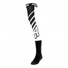 FOX MACH ONE KNEE BRACE SOCK [BLK/WHT]