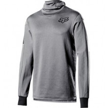 FOX DEFEND THERMO HOODED JERSEY [STL GRY]
