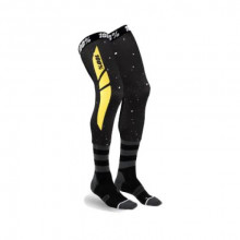 100% SOSETE LUNGI 100% REV Knee Brace Performance Moto Black/Yellow