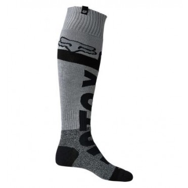 FOX TRICE COOLMAX THICK SOCK [BLK/GRY]
