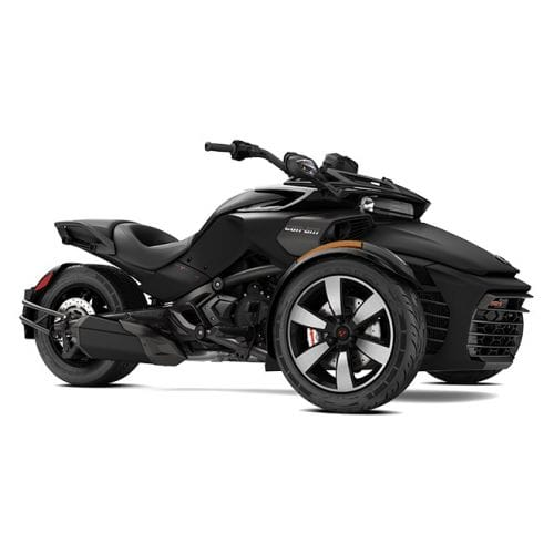 Can-Am Spyder F3-S SE6 Monolith Black Satin '17