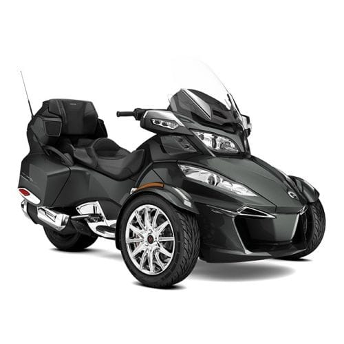 Can-Am Spyder RT Limited SE6 Asphalt Grey Metallic '17