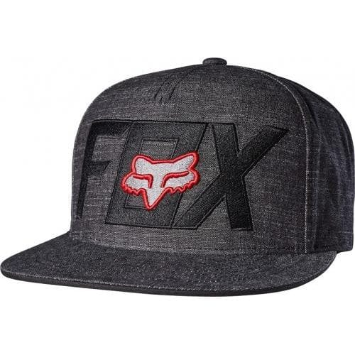 FOX  KEEP OUT SNAPBACK -19066-017 Black-Red