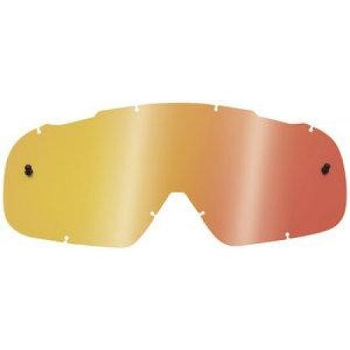 FOX  Air Space Lexan Anti-Fog Lens -08078 Gold-Blue-Orange