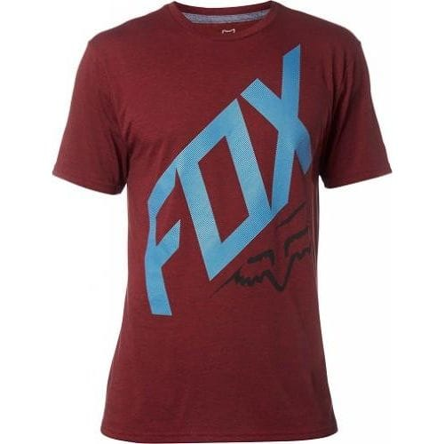 FOX  CLOSED CIRCUIT SS TECH TEE -19265-383 Red