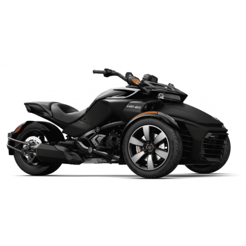 Can-Am Spyder F3-S SM6 Monolith Black Satin '18