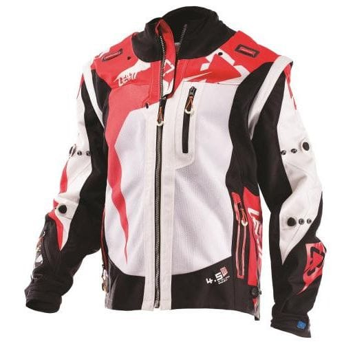 Leatt  JACKET GPX 4.5 X-FLOW BLACK/RED