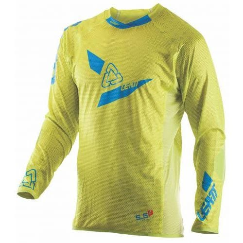 Leatt  JERSEY GPX 5.5 ULTRAWELD M LIME/BLUE