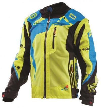 Leatt  JACKET GPX 4.5 X-FLOW LIME/BLU