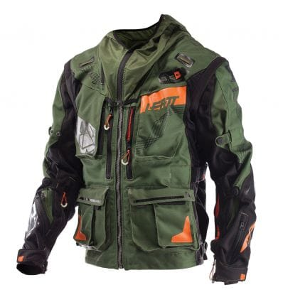 Leatt  JACKET GPX 5.5 ENDURO KAKI/BLK