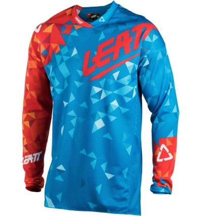 Leatt  JERSEY GPX 4.5 LITE BLU/RED