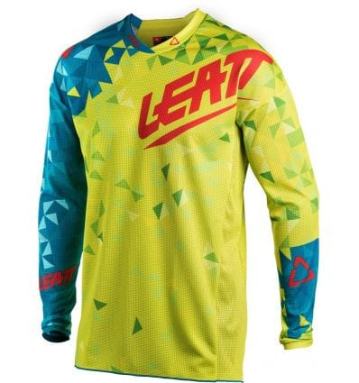 Leatt  JERSEY GPX 4.5 LITE LIME/TEAL