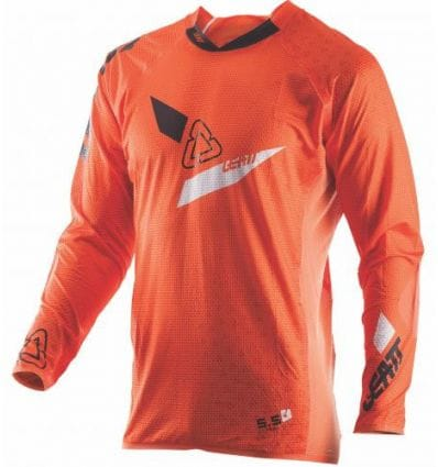 Leatt  JERSEY GPX 5.5 ULTRAWELD  ORANGE/BLACK