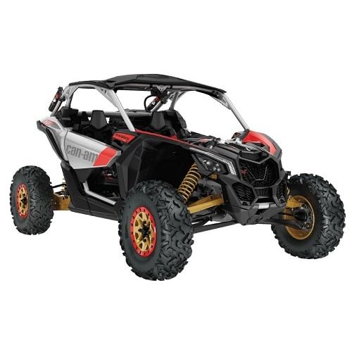 Can-Am Maverick X rs Turbo R Silver-Gold-Red '19