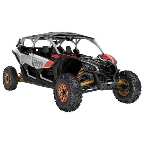 Can-Am Maverick MAX X rs Turbo R Silver-Gold-Red '19