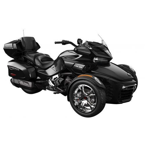Can-Am Spyder F3 Limited SE6 Steel Black Metallic Chrome '19