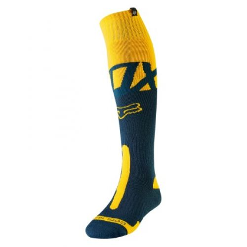 FOX COOLMAX THICK SOCK - KILA [NVY/YLW]