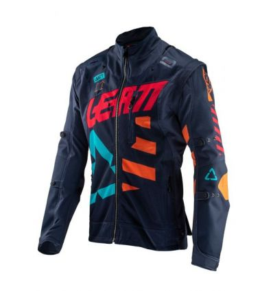 Leatt JACKET GPX 4.5 X-FLOW INK/ORANGE