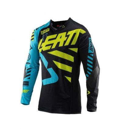 Leatt JERSEY GPX 5.5 ULTRAWELD BLACK/LIME