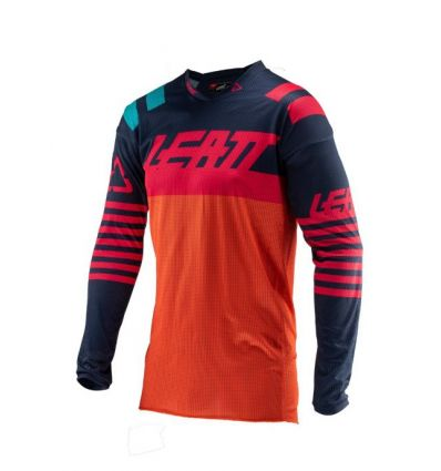 Leatt JERSEY GPX 4.5 X-FLOW  ORANGE/BLACK