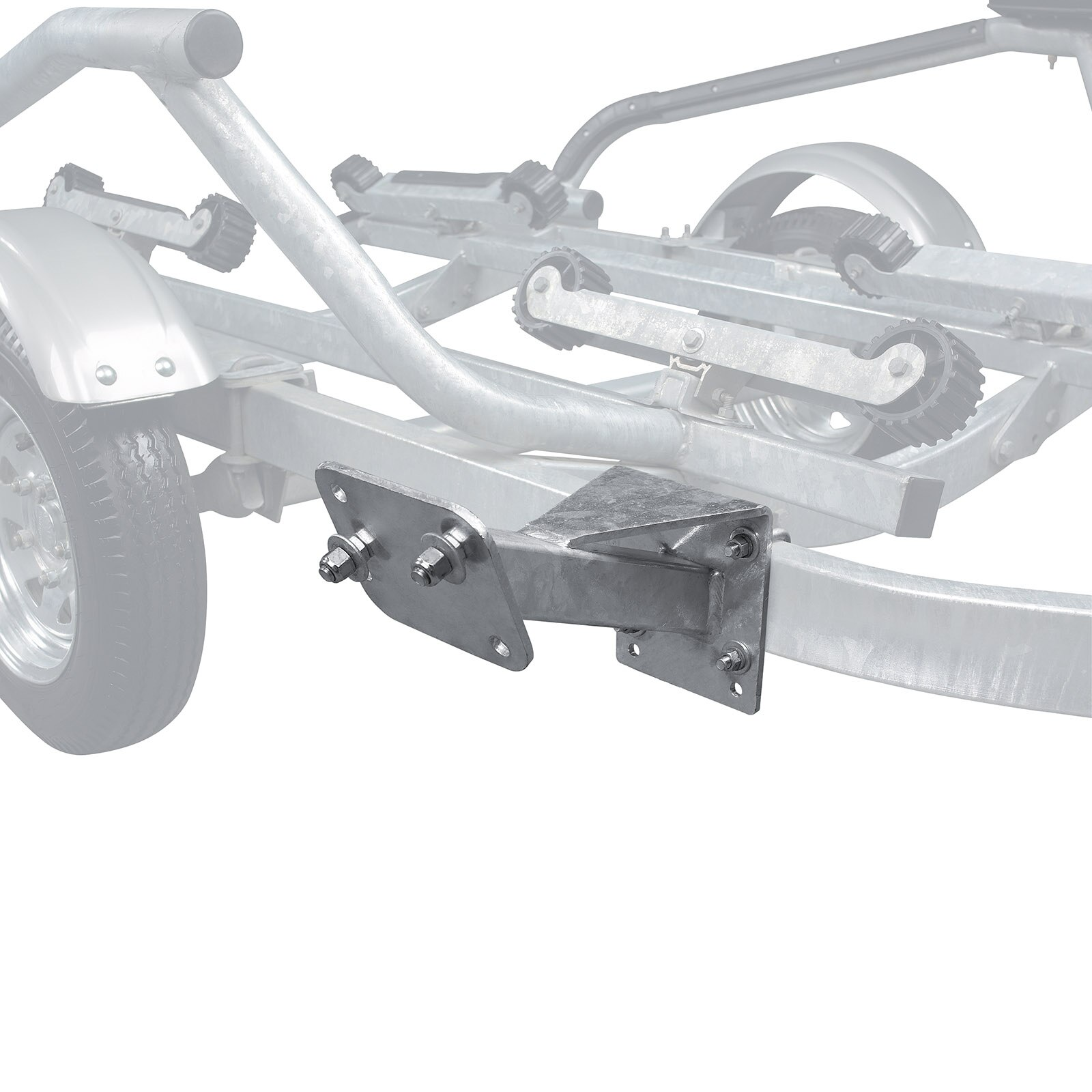 Can-am  Bombardier Spare Wheel Support for All Trailers