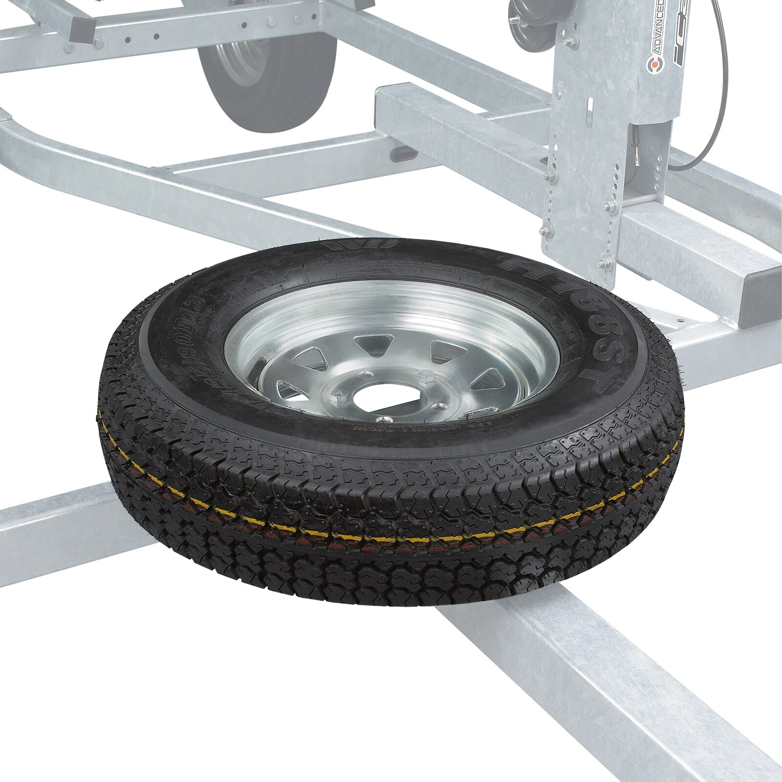 Can-am  Bombardier Spare Wheel Support for MOVE II Trailers