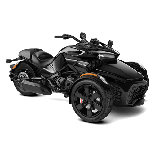 Can-Am Spyder F3 Steel Black Metallic '20